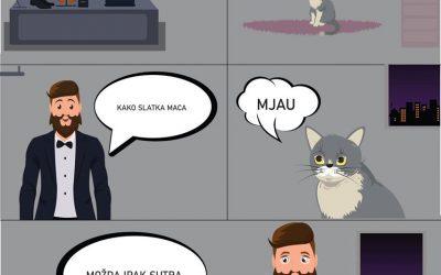STRIP – Mačke su još jednom spasile svijet od zla!