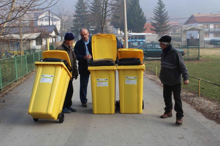 Tuzla: 2.500 domaćinstava kreće sa primarnom selekcijom otpada