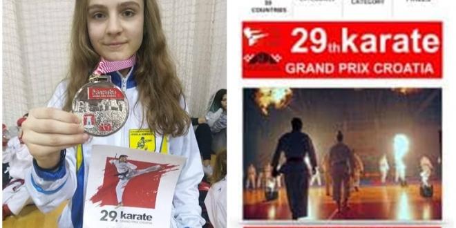 """Uspješan nastup karatista KBS """"Tuzla"""" Tuzla na 29. Karate Grand Prix, Croatia"""