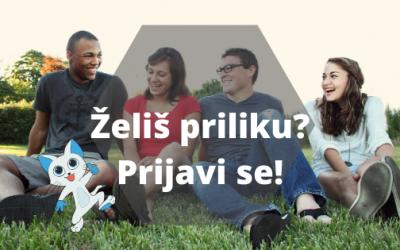 "PRIJAVITE SE – Trening za mlade ""Peacebuilding with a Twist"""