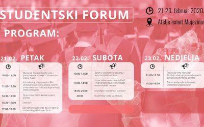 """Tuzla/Događaj je otvoren, javan i besplatan: Studentski forum """"Studentska (ne)solidarnost?!"""""""