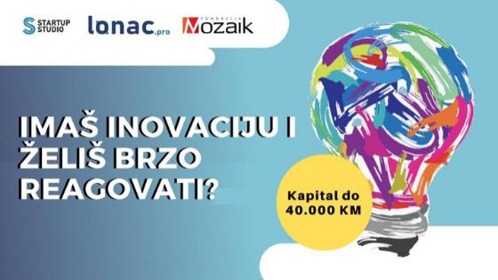 Startup studio Fondacije Mozaik: Imaš inovaciju i želiš brzo reagovati?