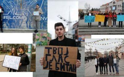 Mladi iz čitave BiH juče poslali jasnu poruku! Tvoj glas je ovdje itekako bitan! (FOTO)
