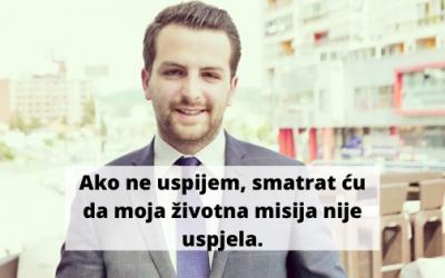 U subotu počinje emisija Mladi u politici: Novi lideri/ke! Prvi gost: Omer Berbić, Naša stranka