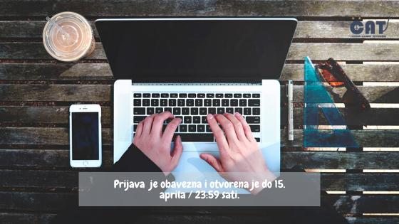 IUS organizuje online testiranje za stipendije 17. aprila
