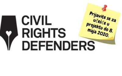 """Otvorene prijave za projekat iz oblasti ljudskih prava: """"EUTH – Youth Advocating in EU"""""""