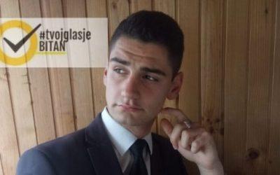 Rijad Ahmetović: Ambasador kampanje #TvojGlasJeBitan za Sarajevo