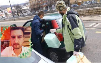 Milan Ilić – novinar koji je sa Timom volontera pomogao preko 1000 ljudi (VIDEO)