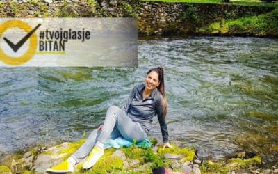 Anastasija Ćorović: Ambasadorka kampanje #TvojGlasJeBitan za Foču