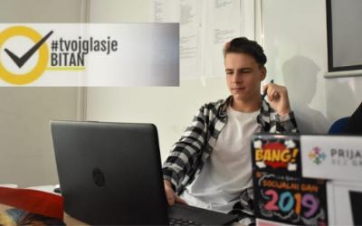 Eldar Ramić: Ambasador kampanje #TvojGlasJeBitan za Bugojno