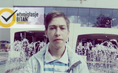 Kristijan Tomić: Ambasador kampanje #TvojGlasJeBitan za Lukavac