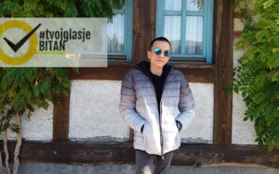 Marko Bašić: Ambasador kampanje #TvojGlasJeBitan za Novi Grad