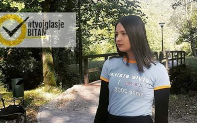 Belma Tulić: Ambasadorka kampanje #TvojGlasJeBitan za Bosansku Krupu