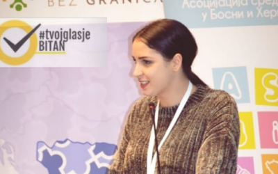 Merjem Muhadžić: Ambasadorka kampanje #TvojGlasJeBitan za Sanski Most