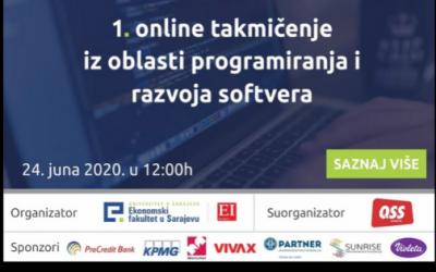 Sarajevo: Prvo online takmičenje iz oblasti programiranja i razvoja softvera u BiH