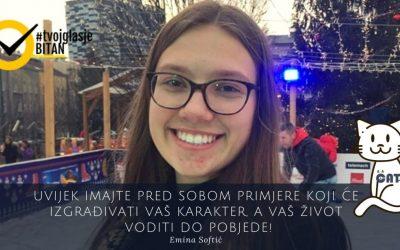 Emina Softić: Kampanja #TvojGlasJeBitan – DIGITALNA AKADEMIJA