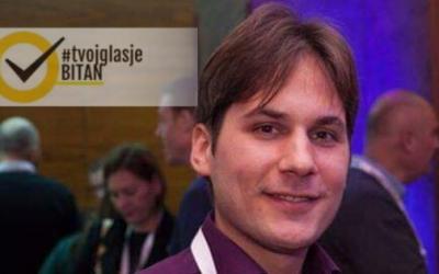 Aleksandar Rade Ćorović: Ambasador kampanje #TvojGlasJeBitan za Banja Luku