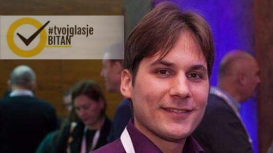 Aleksandar Ćorović: Ambasador kampanje #TvojGlasJeBitan za Banja Luku