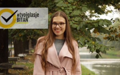 Emina Softić: Ambasadorka kampanje #TvojGlasJeBitan za Donji Vakuf
