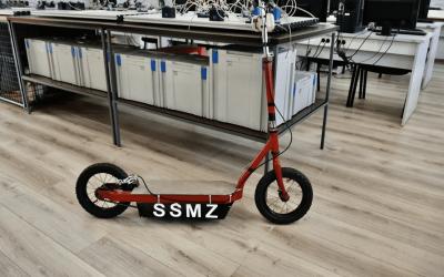 Učenici sarajevske Srednje škole metalskih zanimanja napravili električni romobil