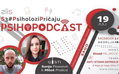 Psihopodcast: Anti/Stigma Depresije – A koja je tvoja šifra !?