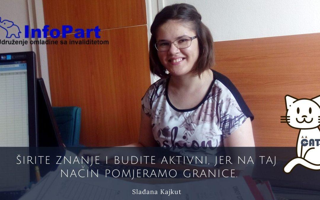 """Slađana Kajkut: Udruženje omladine sa invaliditetom """"INFOPART"""" – DIGITALNA AKADEMIJA"""