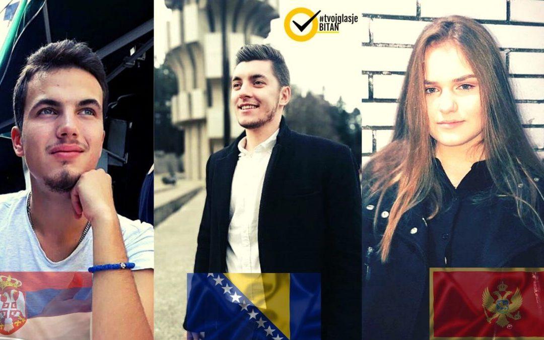 Zašto je Kampanja #TvojGlasJeBitan pokrenuta u Crnoj Gori i Srbiji!?