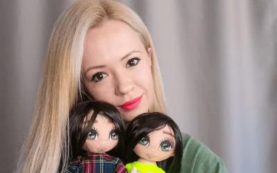 """UNIKATAN POKLON- Vraćaju u djetinjstvo: Personalizirane """"Dunjine lutke"""" su čista ljubav i sreća"""