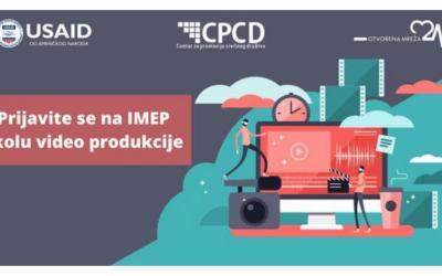 Troškovi učešća plaćeni: IMEP ljetna škola video produkcije