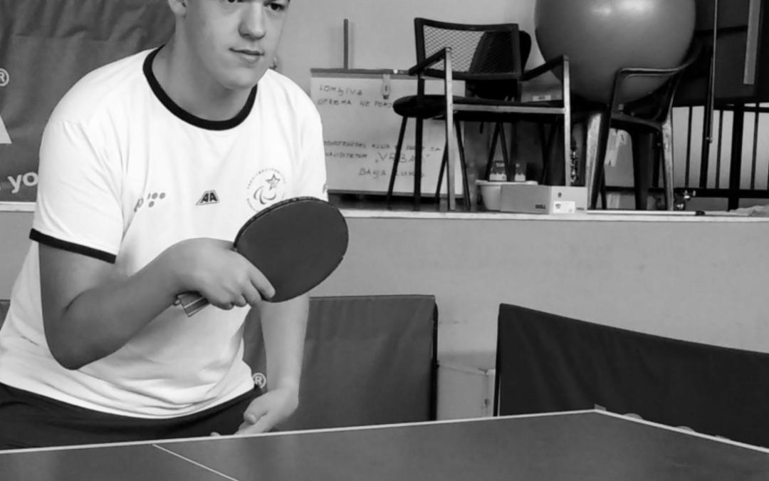 Uspješni mladi u BiH: Haris Eminović – cilj i najveća želja mu je plasman na Paraolimpijske igre