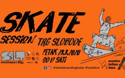 """Tuzla: """"Skate Session – Trg Slobode"""""""