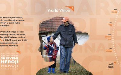 Oslobodi heroja u sebi i pridruži se pokretu za pomoć najranjivijoj djeci i njihovim porodicama u BiH