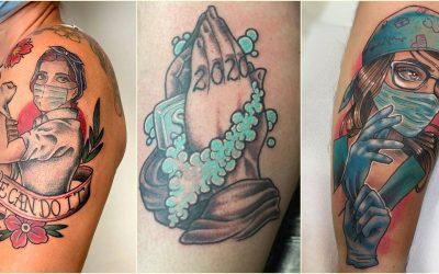 Tetovaže inspirisane pandemijom korona virusa su postale novi trend u svijetu (FOTO)