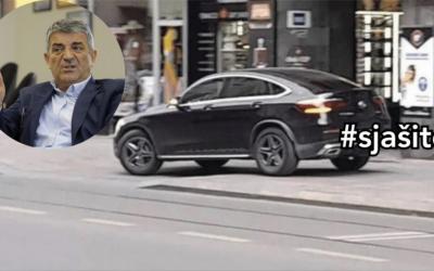 Zbog nepropisnog parkiranja Sebije Izetbegović, Općina Centar sklanja čunjeve sa Titove ulice #SJAŠITE