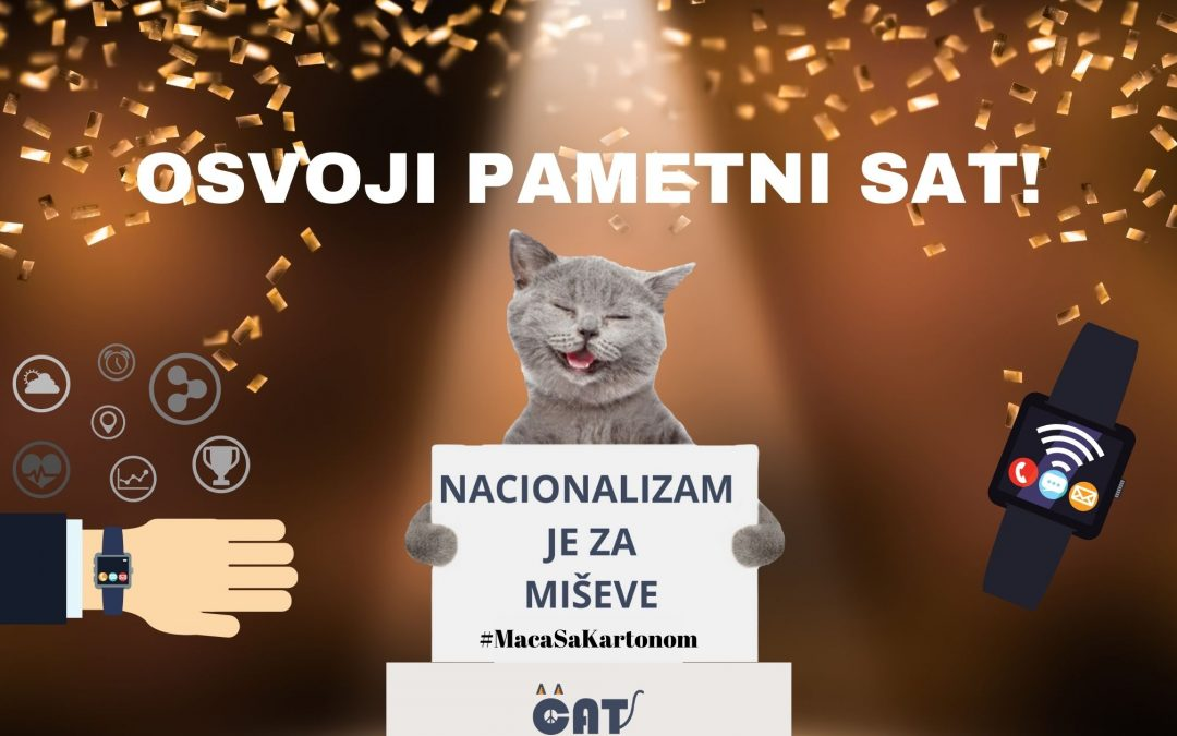 NOVA CAT NAGRADNA IGRA! #MacaSaKartonom