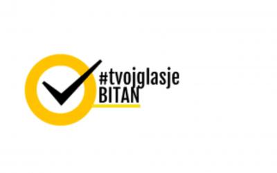 Prijavi se :Trodnevna konferencija kampanje #TvojGlasJeBitan u Sarajevu