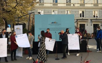 Održan performans u kojim se osuđuje govor mržnje u javnom prostoru