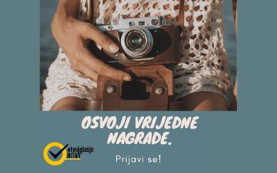 Kampanja #TvojGlasJeBitan nagrađuje mlade! Kreiraj video ili pjesmu koji govore o važnosti i značaju glasanja