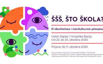 """Program za studente: """"ŠŠŠ, ŠTO ŠKOLA? – O identitetima i interkulturnim pitanjima"""""""