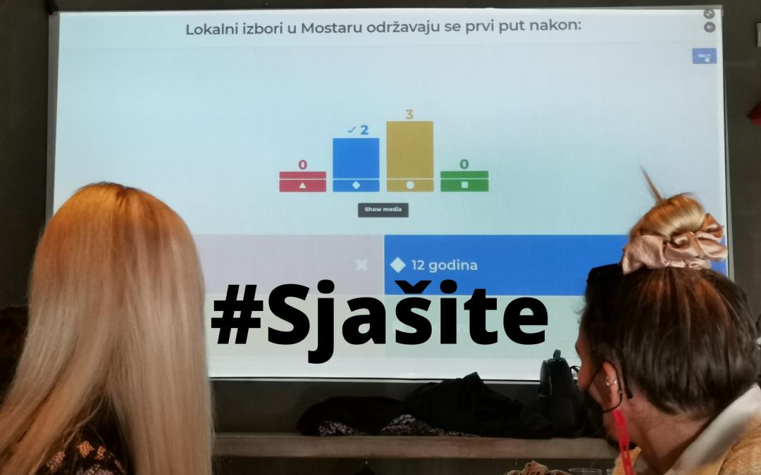 (Nešto drugačiji) Brzi odgovor 2020. održan u Sarajevu – #sjašite