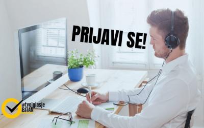 PRIJAVI SE: Da li izborni zakon BiH treba da se mijenja? Interaktivna javna diskusija kampanje #TvojGlasJeBitan
